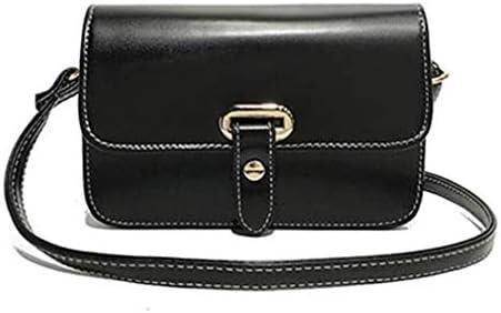 バッグ、新しいファッションベルトスモールスクエアバッグ、ワイルドスモールバッグ、シンプルなレトロショルダーバッグメッセンジャーバッグ、ブラック、20 * 13 * 7 Cm 美しいファッション
