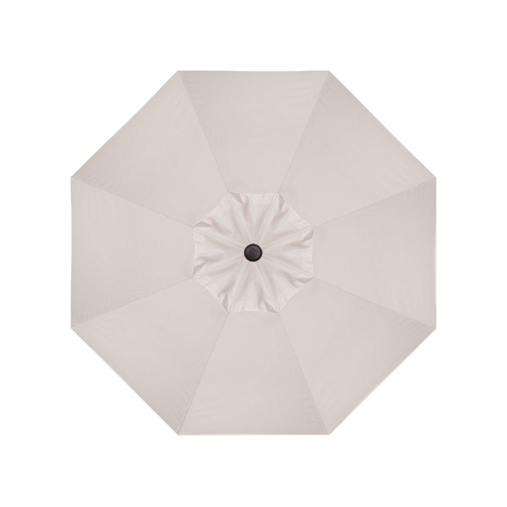 9-Foot Treasure Garden (Model 810) Deluxe Auto-Tilt Market Umbrella with Bronze Frame and Sunbrella Fabric: Canvas (Includes 3 Year Extended Frame Warrantee) by Treasure Garden (Image #6)