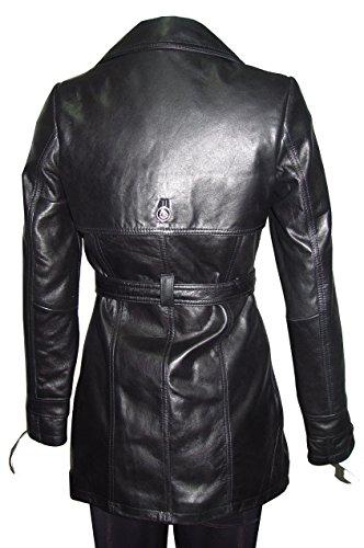 Nettailor 5022 Fine Fitted Clean Best Leather Coats Belt Women by NETTAILOR (Image #4)