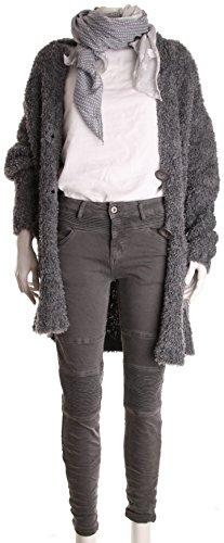 Pantalón Basic Para de Mujer Gris 5q4PqxOB