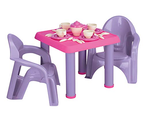 American Plastic Toy 28 Pc Tea Party Set