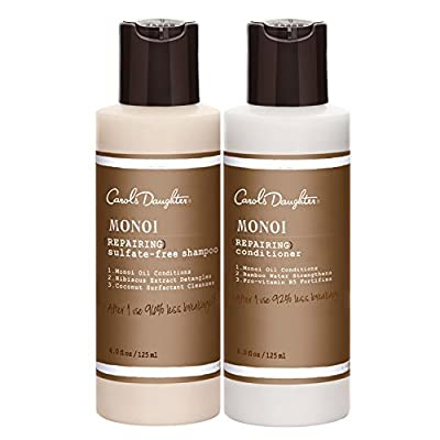 Carol's Daughter Monoi Repairing Shampoo & Conditioner Travel-size Duo