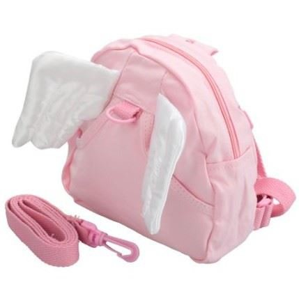 Angel Childrens backpack rein safety harness toddler kids[Pink] Global Store