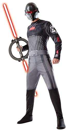 Rubie's Star Wars Rebels Adult Inquisitor Costume, Multicolor, Standard]()