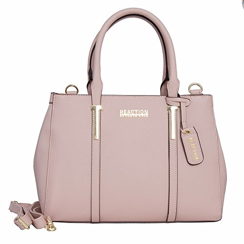 Kenneth Cole Reaction KN1860 Triple Entry Harriet Satchel Handbag (BLUSH)