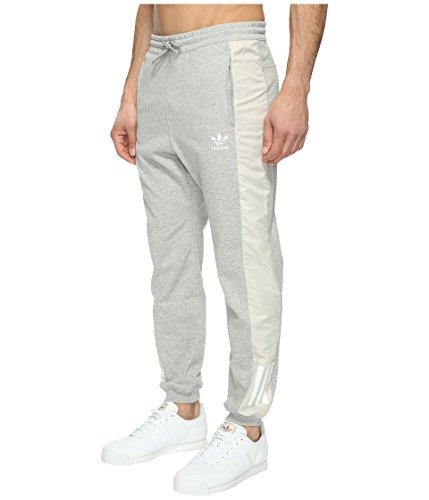 adidas Originals Men's Bottoms Doom Relaxed Jogger, Medium Grey Heather, X-Large