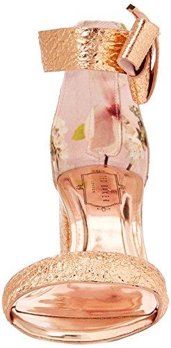 Gold Kerria Ted Sandalia con Ffd700 Rose Baker Para Mujer Dorado Pulsera 5qTqzw