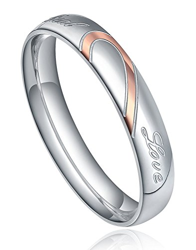 Stainless Valentine Couples Wedding Engagement