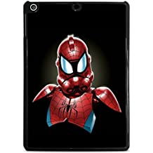 Spiderman StormTrooper Art Black iPad Air Hardshell Case by MWCustoms