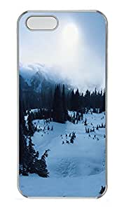 iPhone 5 5S Case landscapes nature snow 8 PC Custom iPhone 5 5S Case Cover Transparent by icecream design