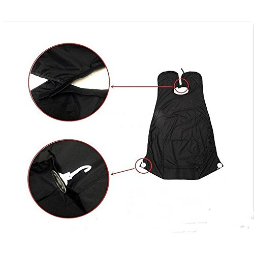 Beard Care Shave Apron for Men - Sunmid Bib Trimmer Facial Hair Cape Sink Idea Gifts For Men by Sunmid (Image #3)