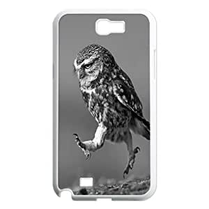 Owl art Pattern Hard Case Cover for For Samsung Galaxy Case Note 2 FKGZ468948