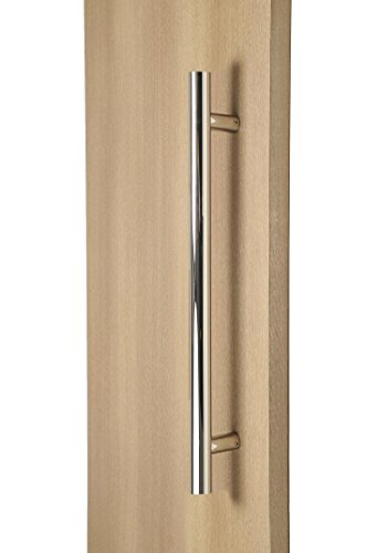 Modern & Contemporary Round Bar / Ladder/ H-shape Style 304mm / 12 inches Push-pull Stainless-steel Door Handle - Polished Chrome Finish