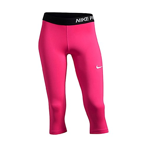 Nike Pro Cool Training Capris Hot Pink/Black Base Layer X-Large