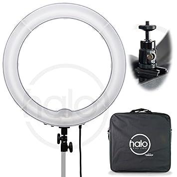"Amazon Prismatic 18"" Halo Ring Light Camera &"