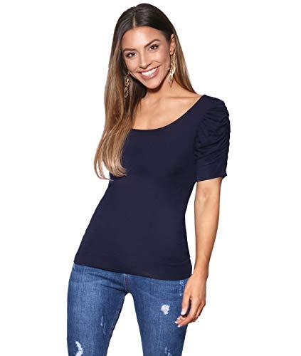 (Krisp Basic T-Shirt (3900-NVY-14) Navy)