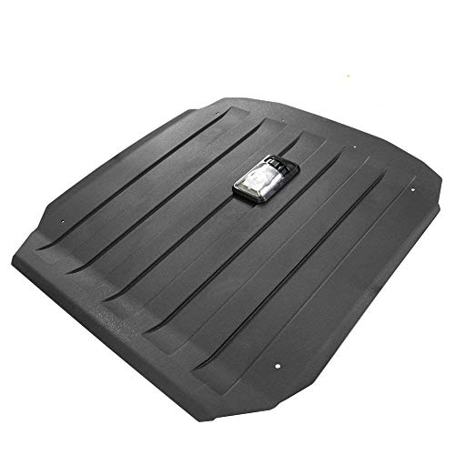 (Hard Roof Compatible for Polaris RZR 900 XP 1000 Turbo 900 S Trail UTV Top with Reading Lamps Light,Black - KIWI MASTER)