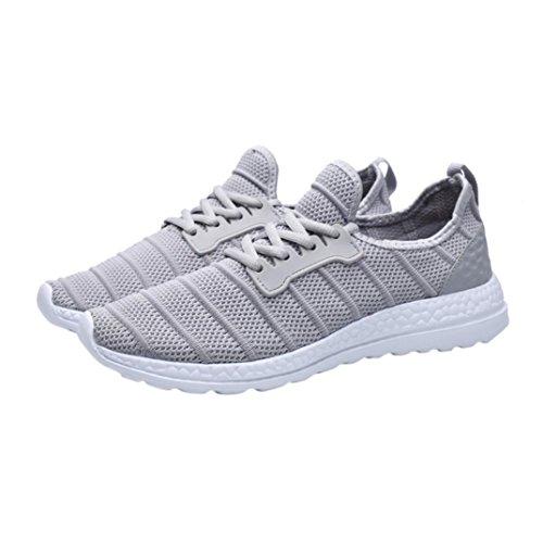 Basse Running Bianca 36 Sportive Nero Sneakers Donna 47 Asia 43 Grigio Uomo UOMOGO da Grigio Scarpe vnCYYxp