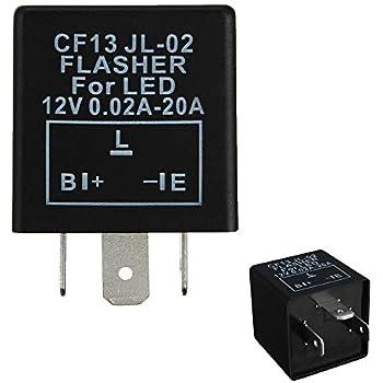 ijdmtoy (1) 3-pin cf-13 cf13 ep34 electronic flasher relay fix