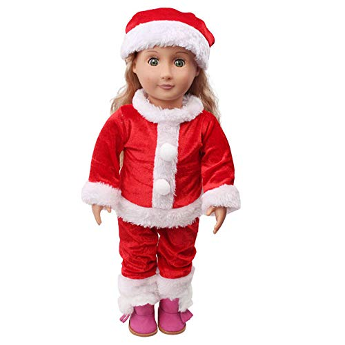 GBSELL Chirstmas Clothes Accessories For 18 inch Our Generation American Girl (1# Chirstmas)]()