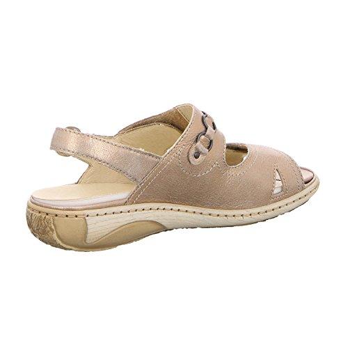 Waldläufer Women's 210004-131-102 Fashion Sandals Beige (Lightgold) R48WBt6OzW