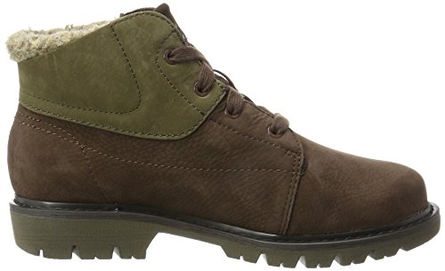 Women Olive Coffee Dark Fur Mujer WP Fret Botas para Caterpillar Marrón Bean T8Pqx01wOn