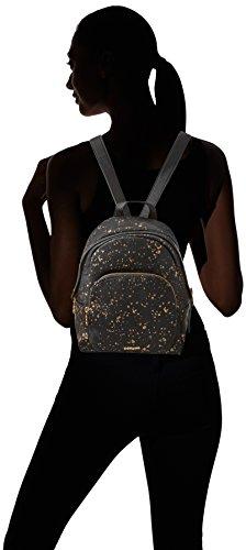Desigual Mujer 5 Splatter 2000 Bols Splatter 8x16 Cm perú 10x25 bxht Metallo Negro Metal U rqxrw87If
