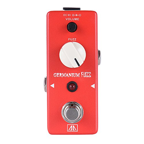 ammoon AROMA AGF-5 Classic Germanium Transistor Fuzz Guitar Effect Pedal Aluminum Alloy Body True Bypass by ammoon