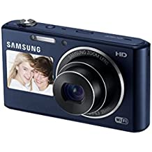 Samsung DV150F 16.2MP Smart WiFi Digital Camera with 5x Optical Zoom and 2-Inch front and 3-Inch Rear Dual LCD Screens (Black) (OLD MODEL)
