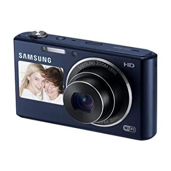 Samsung DV150F 16 2MP Smart WiFi Digital Camera with 5x Optical Zoom and  2-Inch front and 3-Inch Rear Dual LCD Screens (Black) (OLD MODEL)