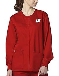 WonderWink WonderWORK College Unisex Snap Front Jacket