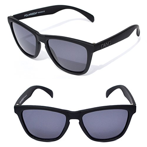 - Black Polarized Sunglasses with Black Lenses by DANG Shades