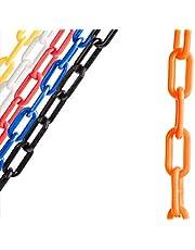 ChainBoss Orange Plastic Chain with Sun Shield 10 Year UV Protection – 50 feet