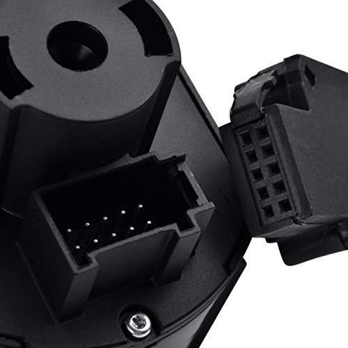 5ND941431B Lichtschalter mit Chrom-Autosensor