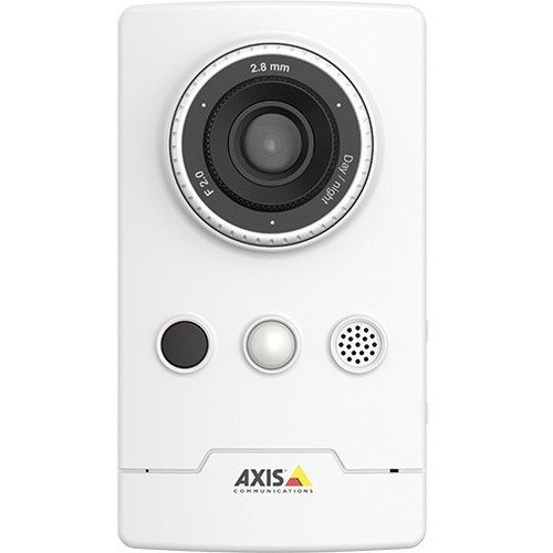 Price comparison product image Axis Communications 0891-001 1920 X 1080 Network Surveillance Camera, 2.8mm Lens, White