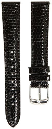 MICHELE Women's MS16AA610001 Straps Analog Display Black Watch
