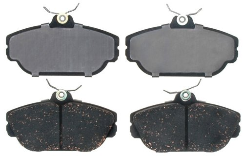 ACDelco 17D601 Professional Organic Front Disc Brake Pad Set