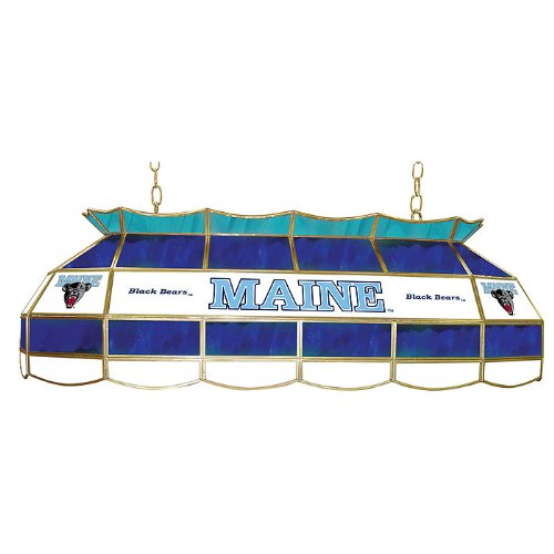 (NCAA University of Maine Tiffany Gameroom Lamp,)