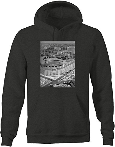 - Baseball - Yankee Stadium Vintage Original Retro New York Sweatshirt - XLarge Charcoal