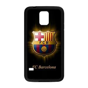 Fc Barcelona Theme Design Plastic Case Cover For Samsung Galaxy S5