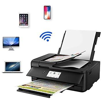 TANCEQI Impresora Multifunción de Tinta (USB, 5 Colores, 9600 ...