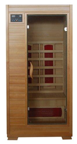 Mountain ridge Sauna ESF101HCE 1-Person Ceramic Heater Sauna