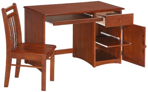 Night & Day Clove Student Desk and Chair Cherry by Night & Day