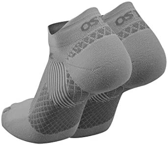 OS1st FS4 No Show Plantar Fasciitis Socks (Pair) for Plantar