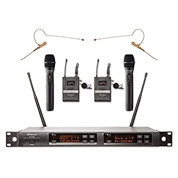 Image of Airwave Technologies Handheld Wireless Microphone AT-4200 RENTAL PAK Handheld Wireless Microphones