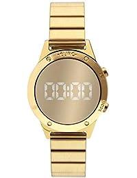 Relógio Euro Feminino Fashion Fit Reflexos Dourado Eujhs31bab/4d