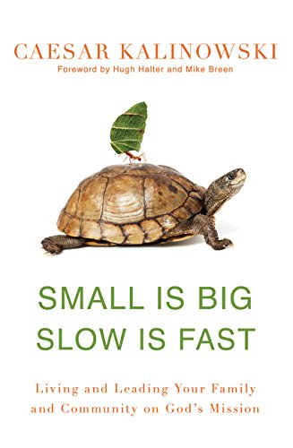 Read Online Small Is Big, Slow Is Fast: Living and Leading Your Family and Community on God's Mission pdf