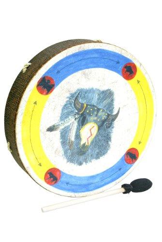 Remo Drum, Buffalo, 16'' Diameter, 3.5'' Depth, 'Buffalo' Graphics by Remo