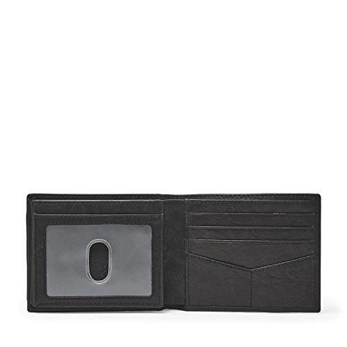 Fossil Flip Wallet Fossil Bifold ID ML3899001 Neel Black Neel vqxwwYt5