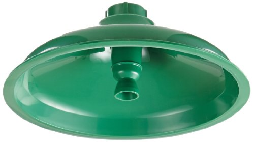 Haws SP829 Axion MSR ABS Plastic Drench Shower Head with Integral Flow Control, Green